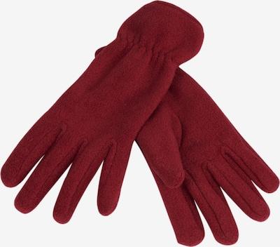 LOEVENICH Vingerhandschoenen ' PolarSoft ' in de kleur Donkerrood, Productweergave