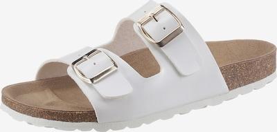 CITY WALK Pantolette in weiß, Produktansicht