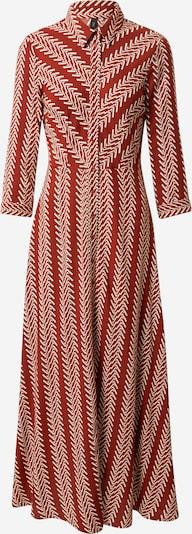 Y.A.S Košilové šaty 'Savanna' - béžová / rezavě hnědá, Produkt