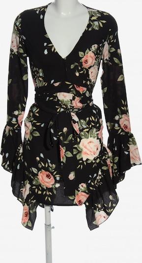 PrettyLittleThing Dress in XXS in Green / Pink / Black, Item view