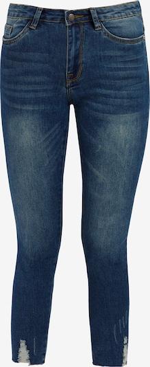 Finn Flare Slim-Fit Jeans in blue denim, Produktansicht