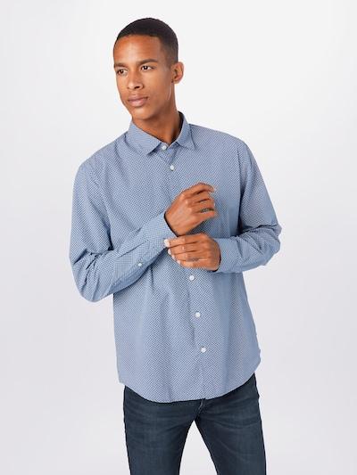 ESPRIT Košile - modrá / bílá: Pohled zepředu