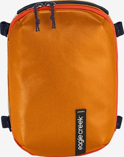 EAGLE CREEK Packtasche 'Pack-It Gear Cube S' in orange / schwarz / weiß, Produktansicht