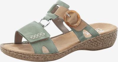 RIEKER Pantofle - písková / mátová, Produkt