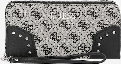 GUESS Plånbok 'FRANKIE' i svart / vit, Produktvy