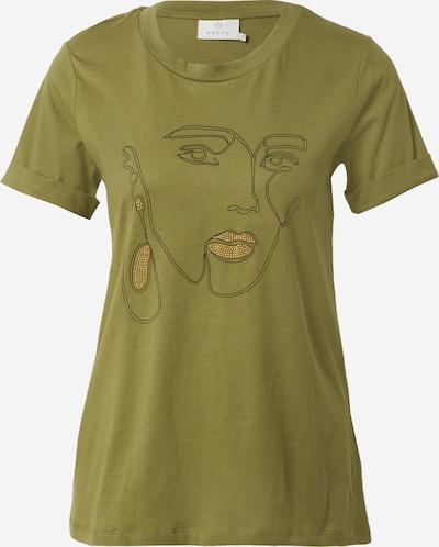Maglietta 'Eira' Kaffe di colore oro / oliva, Visualizzazione prodotti