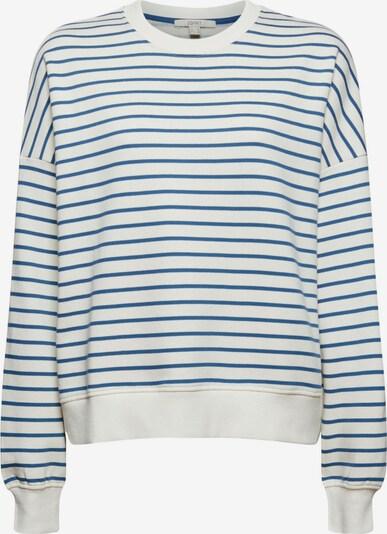 ESPRIT Sweatshirt in Blue / White, Item view