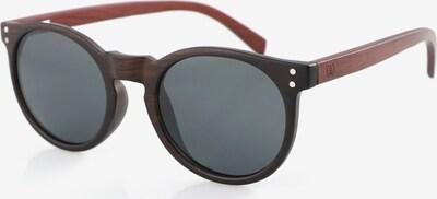 Wave Hawaii Sonnenbrille ' Spyn ' in braun / schwarz, Produktansicht