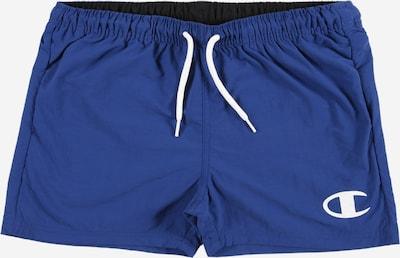 Champion Authentic Athletic Apparel Badeshorts in blau / weiß, Produktansicht