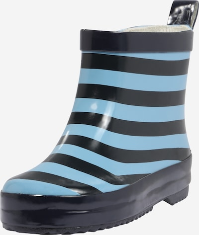 PLAYSHOES Rubber boot in Marine / Light blue, Item view