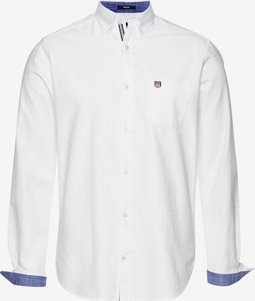 GANT Langarmhemd in Weiß