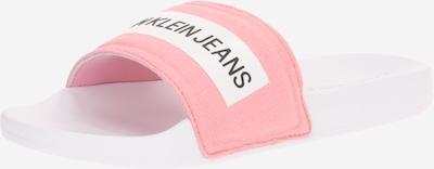 Saboți Calvin Klein Jeans pe roz / alb, Vizualizare produs