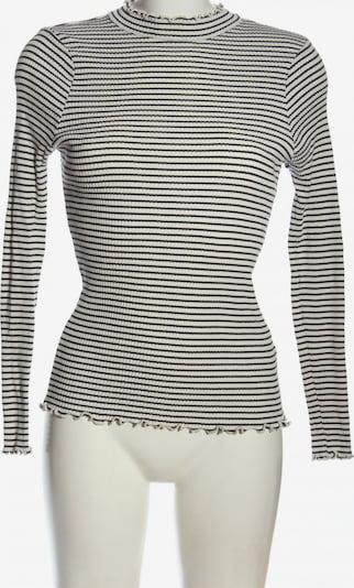 FRENCH CONNECTION Strickshirt in L in schwarz / weiß, Produktansicht