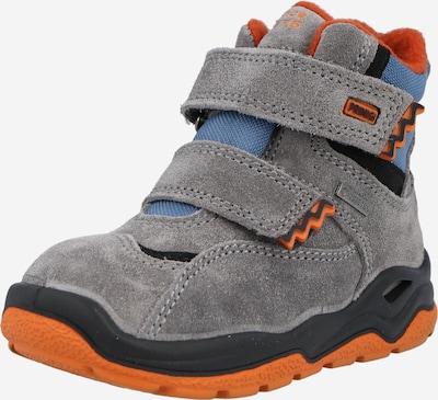 PRIMIGI Stiefel in rauchblau / stone / dunkelorange / schwarz, Produktansicht
