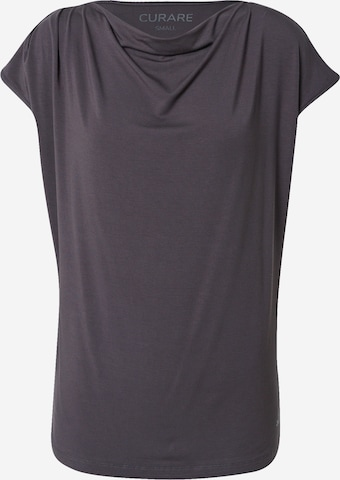 CURARE Yogawear Funkčné tričko - Sivá