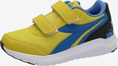 Diadora Sneaker in blau / neongelb / schwarz, Produktansicht