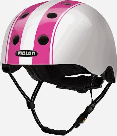 Melon Helm 'Double Pink White' in pink / weiß, Produktansicht