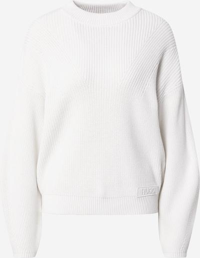 HUGO Pulover 'Sheliya' | naravno bela barva, Prikaz izdelka