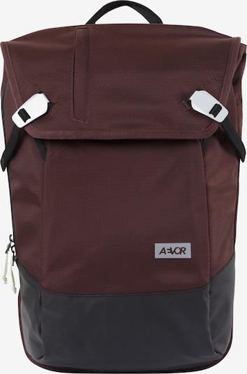 AEVOR Rucksack in bordeaux / schwarz, Produktansicht