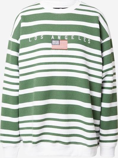 Daisy Street Sweatshirt in Navy / Green / Red / White, Item view