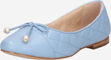 Dune LONDON Ballerina 'HAMMERSMITH' i blå