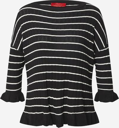 MAX&Co. Pullover 'SABBIA' in schwarz / weiß, Produktansicht
