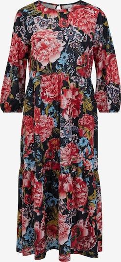VILA Kleid 'Litin' in navy / rot, Produktansicht