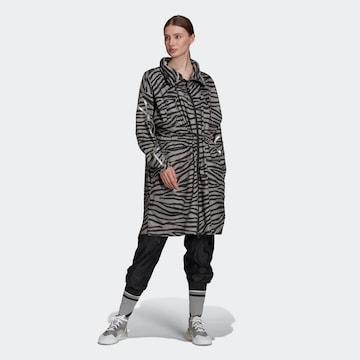 adidas by Stella McCartney Outdoor coat in Grey