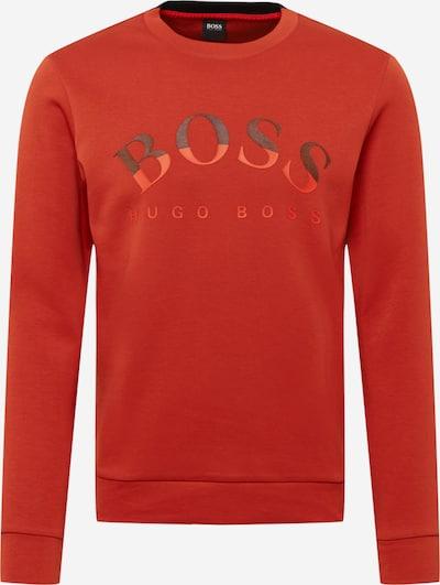 BOSS ATHLEISURE Sweatshirt 'Salbo' in Rusty red / Black, Item view