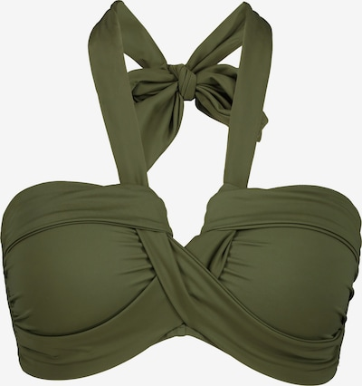 Studio Untold Bikinitop in de kleur Groen, Productweergave