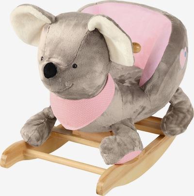 STERNTALER Schaukeltier 'Mabel' in grau / rosa, Produktansicht