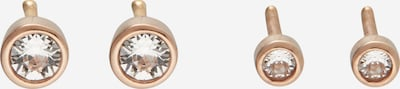 ELLI Earrings 'Basic' in Rose gold / Dusky pink, Item view