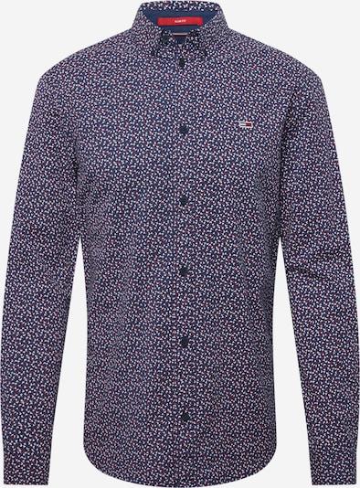 Tommy Jeans Chemise 'DITSY' en bleu marine / rouge / blanc, Vue avec produit