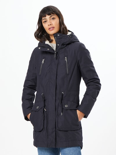 Ragwear Winter coat 'Elsa' in navy, View model