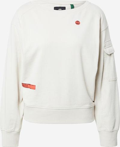 G-Star RAW Sweatshirt in weiß, Produktansicht