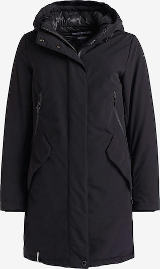 khujo Wintermantel ' CHARLYN ' in de kleur Zwart, Productweergave