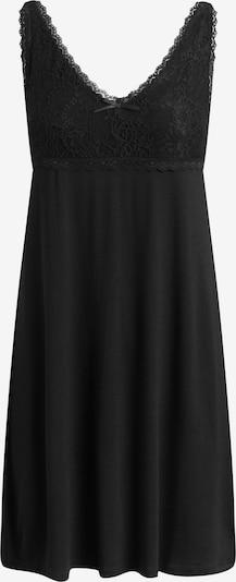 CCDK Copenhagen Nachtkleid 'Jennifer' in schwarz, Produktansicht