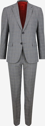 STRELLSON Anzug 'Aidan-Max' in grau / schwarz / weiß, Produktansicht