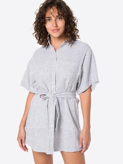Abercrombie & Fitch Kleid in dunkelblau / weiß, Modelansicht