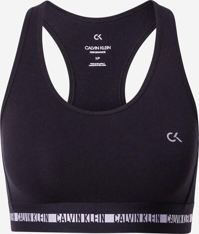 Calvin Klein Performance Спортен сутиен в черно / бяло, Преглед на продукта