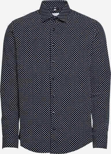 SEIDENSTICKER Button Up Shirt in Night blue / White, Item view