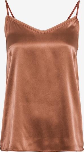 HALLHUBER Spaghettitop mit Seidensatin in bronze, Produktansicht