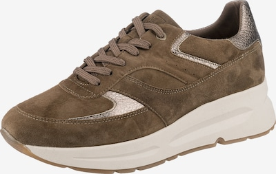 Marc O'Polo Sneakers 'Massima 1b' in Light brown / Gold, Item view