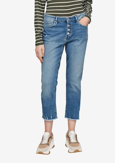 s.Oliver Jeans in de kleur Blauw, Modelweergave