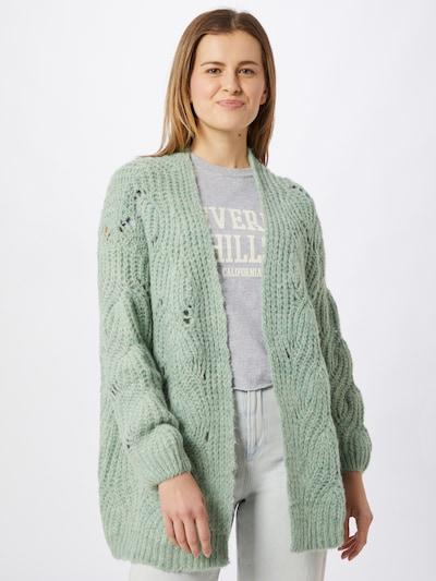 Geacă tricotată 'Fiona' ABOUT YOU pe mentă, Vizualizare model