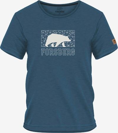 FORSBERG T-Shirt in rauchblau / taubenblau, Produktansicht