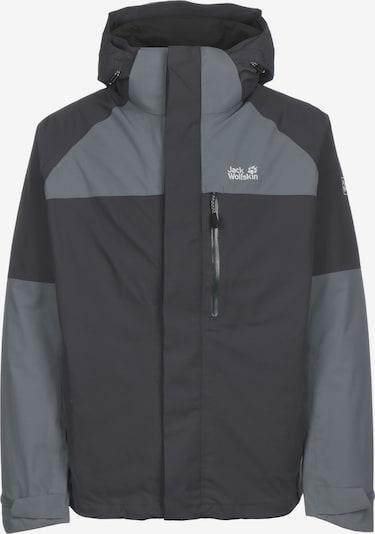 JACK WOLFSKIN Veste outdoor ' Steting Peak ' en gris, Vue avec produit