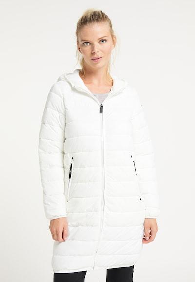 ICEBOUND Mantel in weiß, Modelansicht