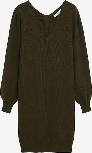 MANGO Kleid in khaki, Produktansicht