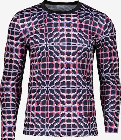 NIKE Sweatshirt in blau / rot / schwarz, Produktansicht